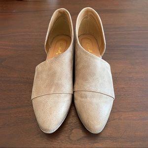 Qupid Tuxedo 68 Asymmetric Closed Toe Shoes Sz 7